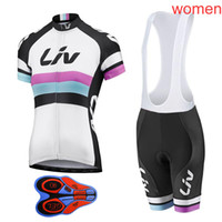 2018 Pro Team LIV 자전거 의류 / 속건 자전거 의류 Mountain Bicycle Wear Ropa Ciclismo / Bike Cycling Jerseys Set L1802
