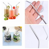 Free Shipping Stainless Steel Drinking Straws Reusable Straw...