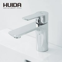 HUIDA bathroom basin faucet contemporary single hole single ...