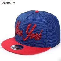 MAERSHEI Gorra de béisbol gorra de béisbol de los hombres de Nueva York  Moda bordada Hip Hop Snapback Hueso unisex Casquette plana Adjustabl 3ddbdf7063e