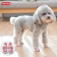 Hipidog Canvas Striped Star Dog Summer Shoes Breathable Pet ...