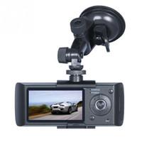 """جودة عالية داش كاميرا 2.7 """"سيارة سيارة dvr كاميرا فيديو مسجل داش كاميرا g- الاستشعار gps المزدوج عدسة كاميرا x3000 r300 سيارة dvrs"""