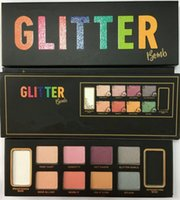 Dropshipping eyeshadow palette makeup GLITTER BOMB Professio...