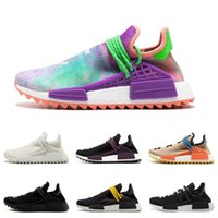 Human Race Men Running Shoes Pharrell Williams Hu Trail Core...