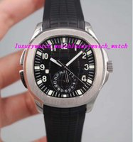 6 Styles Luxury Watch 5164A- 001 Aquan@ut Travel Time Dual Ti...