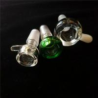 두꺼운 유리 그릇 화면 14 mm 18 mm 남성 관절 유리 물 그릇 건조 허브 포수 홀더 봉수 물 파이프