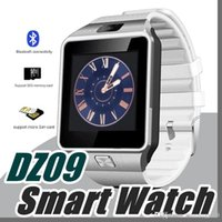 10X DZ09 Smart Watch GT08 A1 U8 Wrisbrand Android per SIM Intelligent Mobile Phone Watch Sleep State Smart orologio Pacchetto retail B-BS