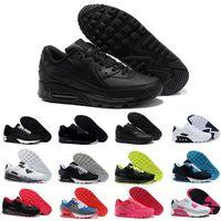 detailed look d9568 4757d Nike Air Max 90 Airmax 90 air 90 Haute Qualité Nouveau Suede Alr Coussin  Chaussures de
