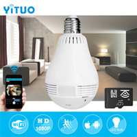 360 Degree Panoramic Surveillance Camera E27 Wifi Bulb Light...