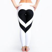 2018 preiswerte Frauenleggins druckten hohe Qualität dünne Gamaschen drücken Yoga hohe reizvolle Hosen leggins s-xl Frauenhosenleggings FS5757 hoch