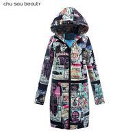 Fashion Women Down Coats 2018 Ladies Long Winter Warm Coat For Women Clothing Light Hoodies Parka Plus Size Slim Solid Jacket Hooded CY1623
