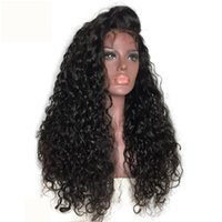 2019 150% Density Kinky Curly Long Wig Long Lace Front Wigs ...