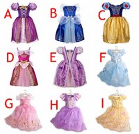 9Styles Girls princess Lace Party dresses New kids fashion c...