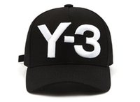 2018 New Y- 3 Men Baseball Caps Embroidery hats Black white s...