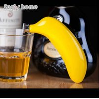 Mealivos фрукты 5 унций из нержавеющей стали фляга банан вино горшок фляга для алкоголя бутылка водки виски бутылка друзья жениха подарки