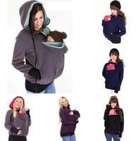 Kangaroo Enceinte Femmes Veste Acheter Hoodies Maternité Porte Bébé xBq0w0FI