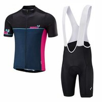 Morvelo Team Cycling Mangas cortas Jersey (BIB) Shorts Sets PRO ROPA MONTAÑA PROMPLETABLE Racing Sports Bicycle Maillot Soft Skin Friendly Z41216