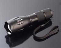 Prix le plus bas, T6 XM-L T6 2000Lumens haute puissance flamme zoomables lampe de poche LED