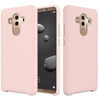Silicone Liquid Case for iPhone X 8 7 6 Plus Huawei Mate 10 ...