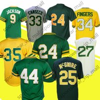 Men 24 Rickey Henderson 33 Jose Canseco 9 Reggie Rollie Fing...