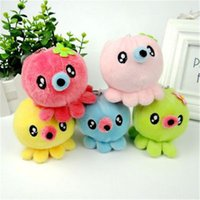 Cute Octopus Plush Toys small plush pendant Stuffed Animal P...