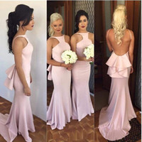 New Arrival 2018 Spring Fashion Mermaid Wedding Party Gowns ...