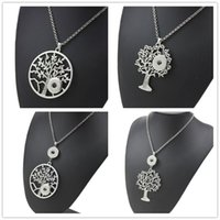 Noosa Ginger Snap Button Jewelry Metal Tree Of Life 18mm Sna...