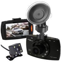 """Mini 2,7"""" carro DVR came condução gravador de vídeo carro caixa preta FHD 1080P frente 140 ° traseira 100 ° gravação de detecção de movimento G-sensor de ciclo"""