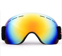 Ski Goggles Anti fog and sand proof Large Spherical Glasses ...