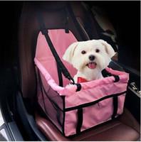 2019 도매 무료 배송 휴대용 애완 동물 자동차 좌석 벨트 부스터 여행 캐리어 접는 가방 개 고양이 강아지에 대한