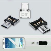 Micro USB to USB OTG адаптер Mini USB Flash Drive U диск OTG конвертер адаптер для Samsung Android телефон планшетный сотовый телефон адаптеры