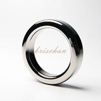 무료 배송 남성의 정욕 지연 지연 스테인레스 스틸 링 금속 순결 지연 링 페니스 클램프 반지의 크기 4