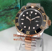 Original Box Mens luxury Submarine Date 40mm Ceramic Bezel 1...