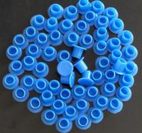 新しい到着卸売青いタトゥーインクカップ岬顔料用品マシンキット1000ピースのための小さいサイズのタトゥー電源