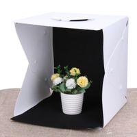 330x330x40mm Tragbare Mini-Fotostudio-Box Fotografie-Hintergrund Integrierte Licht-Fotobox Fotografie-Hintergrund Box Leuchtkasten
