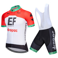 New EF Education First Summer Cycling Jerseys suit Short Sle...