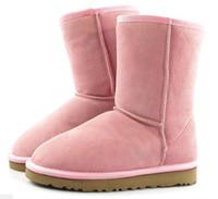 dorp 배송 2018 겨울 뉴 호주 클래식 스노우 부츠 저렴한 여성 남성 겨울 부츠 패션 할인 앵클 부츠 신발 크기 5-13