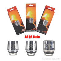 Authentic TFV8 BABY Beast Tank Coils Head AB QR Codes V8 Bab...