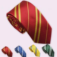 300pcs Harry Potter Ties Gryffindor Slytherin Ravenclaw Huff...