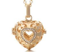 Алмазная любовь ажурный оптовый диффузор ожерелье эфирное масло ожерелье ароматерапия ожерелье диффузор кулон