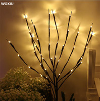 WOXIU Branch Led Lights Willow Christmas Lamp Decor Home Par...