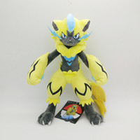 Hot ! 3pcs Lot Zeraora Pikachu Plush Stuffed Doll Toy For Be...