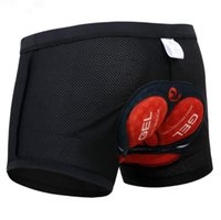 Vélo Shorts Pro 5D Gel Rembourré antichoc Noir Underpant Vélo Vélo Sous-Vêtements de Cyclisme Shorts Sous-vêtements de Cyclisme