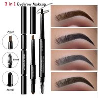 Hot Sell 3 In 1 Eyebrow Makeup Kit for Women Waterproof Brow...