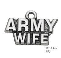 2021 слово армия жена шарм аксессуары обмена ювелирными изделиями для создания
