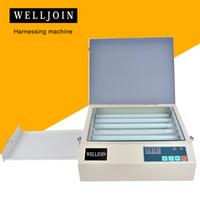وحدة التعرض للأشعة فوق البنفسجية الجديدة لطبقة الوسادة المرقبة بالألياف الساخنة مع درج