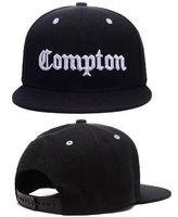 2018 뜨거운 크리스마스 판매 NWA 편지 Compton 빈티지 스냅 백 조정 가능한 모자 모자, 야구 모자 힙합 모자 Compton 모자 캐주얼 라이프 스타일 모자