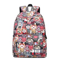 Schoolbag Canva+Oxford fabric Backpack Leisure fashion Striped backpack Outdoor travel bags High-capacity Knapsack Laptop Backpacks A34