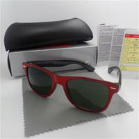 2019 고품질 브랜드 디자이너 패션 남자 선글라스 자외선 보호 야외 스포츠 빈티지 여성 선글라스 복고풍 아이웨어 상자 상자