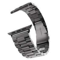 الشريط للحصول على أبل ووتش SE سلسلة 6/5/4 (40MM 44mm و) استبدال الفولاذ المقاوم للصدأ المعادن حزام الأعمال باند لشركة آبل ووتش iWatch سلسلة 6 5 4